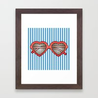 Summer Sunnies Framed Art Print