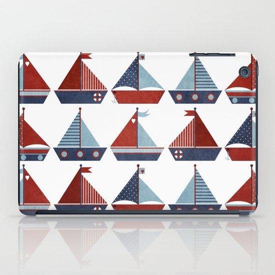 My Little Sail Boat. iPad Case