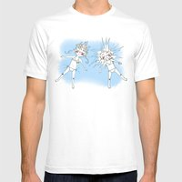 Summer Vacation I Mens Fitted Tee White SMALL