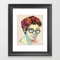 Delicatus Framed Art Print