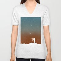 Through the Telescope Unisex V-Neck