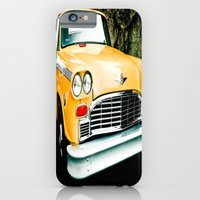 iPhone & iPod Case featuring Yellow Cab (2) by Kim Ramage