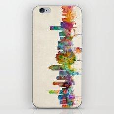 Montreal Canada Skyline iPhone & iPod Skin