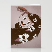 Head Spill Stationery Cards