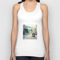 San Francisco Cable Car Unisex Tank Top