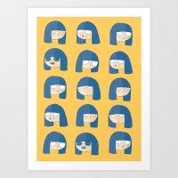 BinnyBoo Art Print