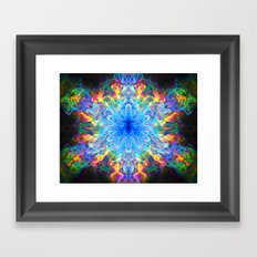 Chaos Framed Art Print