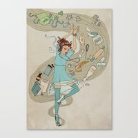 Dance of the Cookie Fairy Canvas Print
