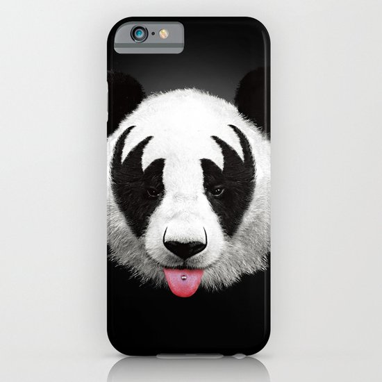 Kiss of a panda iPhone & iPod Case