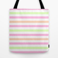 SHERBET STRIPES 2 Tote Bag