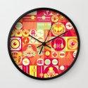 Electro Circus Wall Clock