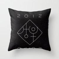 Uranus Square Pluto Throw Pillow