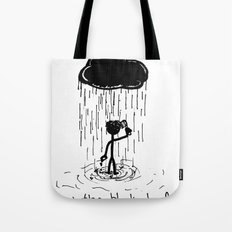 Turn that cloud, upside down! Tote Bag