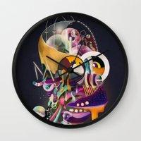 HOMER ON ACID Wall Clock