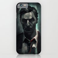iPhone & iPod Case featuring Rust Cohle by Rafal Rola