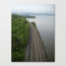 Train Tracks ... Canvas Print