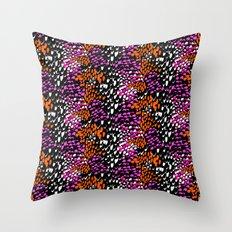 Exotic animal Throw Pillow