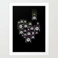 DJ LOVE Art Print