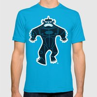 Triclops Mens Fitted Tee Teal SMALL