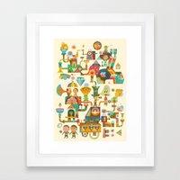 The Chipper Widget Framed Art Print