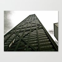 Chicago Greys Canvas Print