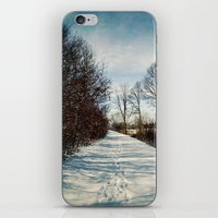 Winter Path iPhone & iPod Skin