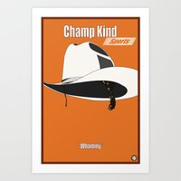 Champ Kind: Sports Art Print