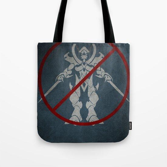 No Protoss allowed Tote Bag
