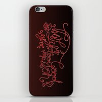 This Life - Red Version iPhone & iPod Skin