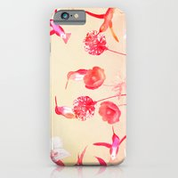 iPhone & iPod Case featuring Hummingbirds in the garden by TatiAbaurreDesigns