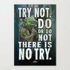 Yoda Jedi Master Giclee Art Print/ Geekery Poster / Fan Art Canvas Print