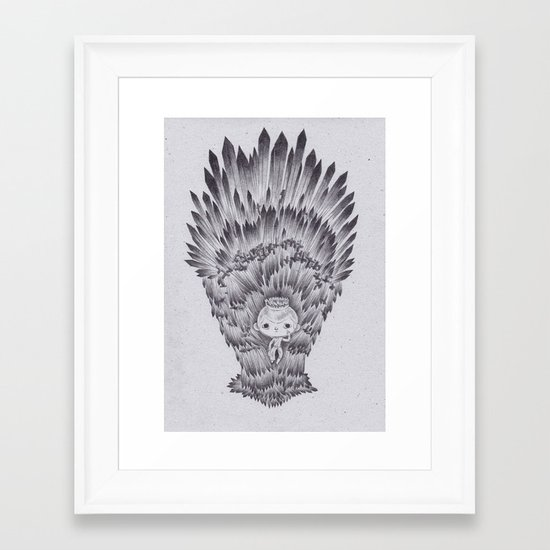 jof Framed Art Print