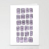 Rhinestones 4b Stationery Cards