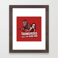 Frankensolo Meets The Wo… Framed Art Print
