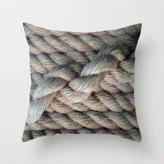 NAUTICAL  ROPE Throw Pillow