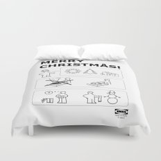 How To Have A Merry Christmas Duvet Cover