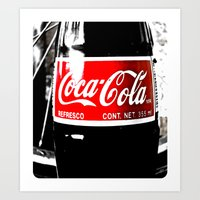 Coca-Cola Nostalgia Art Print