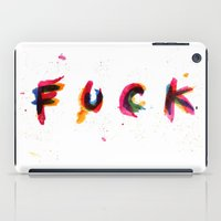 FUCK (2) iPad Case