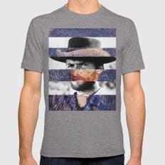 Van Gogh's Self Portrait… Mens Fitted Tee Tri-Grey SMALL