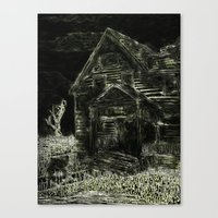 Whisperhouse Canvas Print