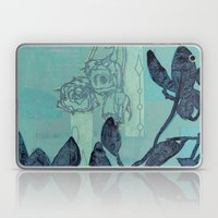 Indigo Vines Laptop & iPad Skin