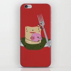 Tamal con cerdo iPhone & iPod Skin