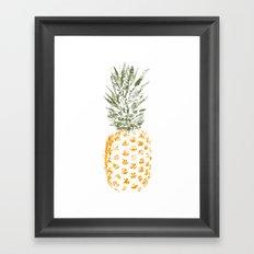 Pineapple I Framed Art Print