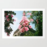 Paris In The Springtime  Art Print