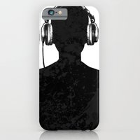 iPhone & iPod Case featuring Black music by barmalisiRTB