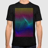 Miami Mens Fitted Tee Tri-Black SMALL