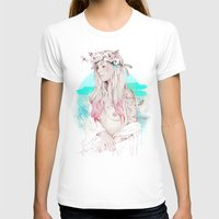 Gioconda Womens Fitted Tee White SMALL