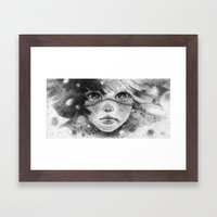 My Bitter Tears Framed Art Print
