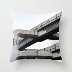 Concrete O1 Throw Pillow