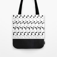I see dots in black and white! Tote Bag